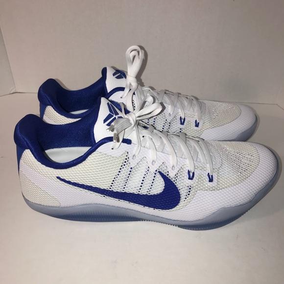 Nike Kobe XI 11 TB Promo White Blue Men Sz 13.5. M 5ae544112c705d1f0caaff7c 2bba74fcd7